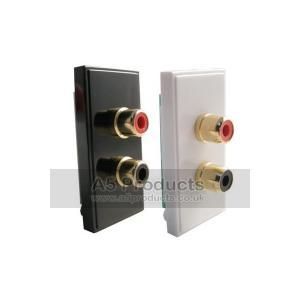 RCA / LOUDSPEAKER  Grid Outlet Module