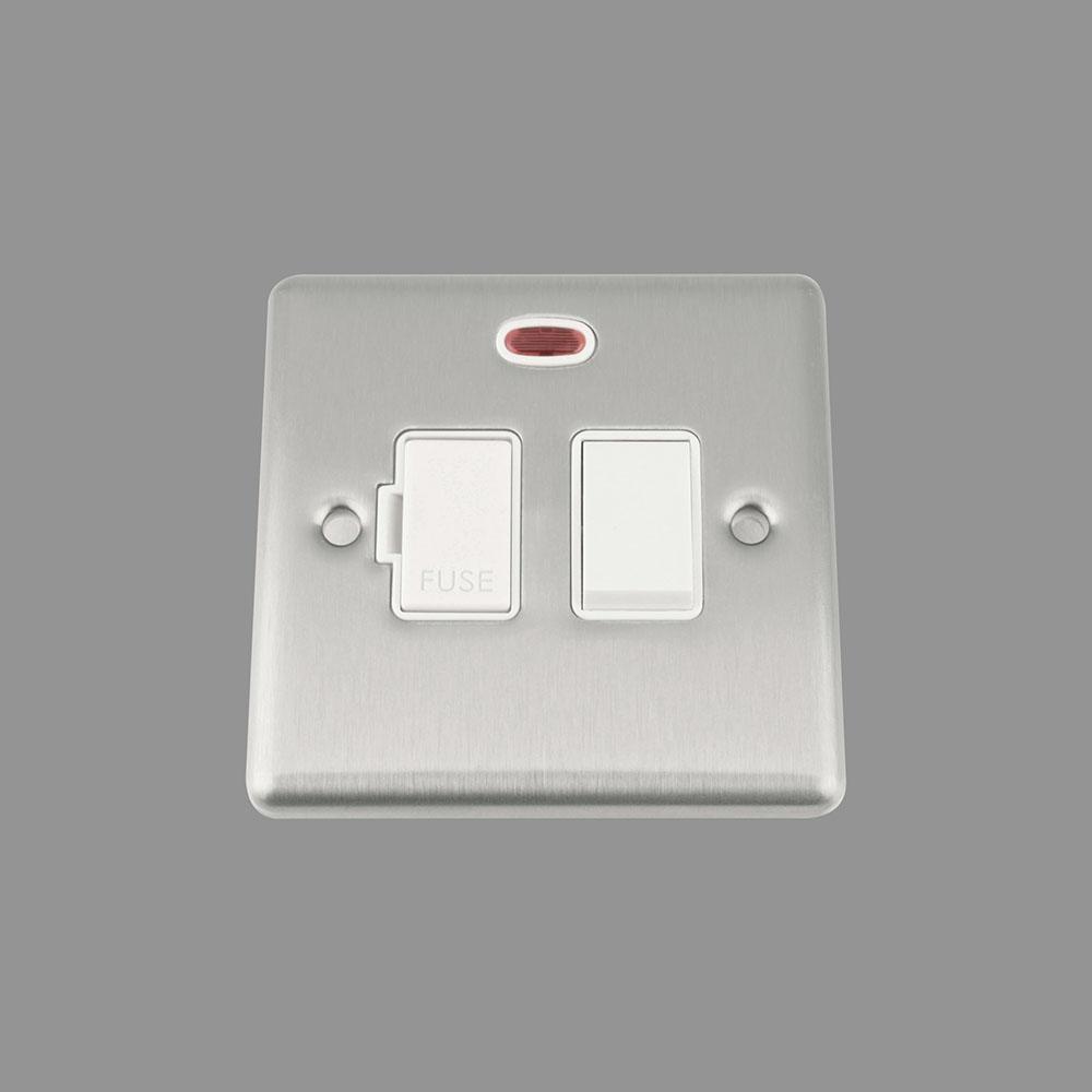 White Insert Plastic Rocker Switch