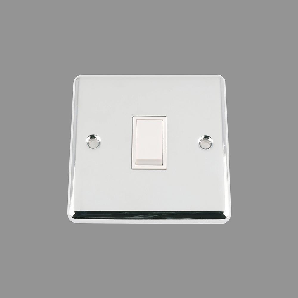 Switch White Insert Plastic Rocker