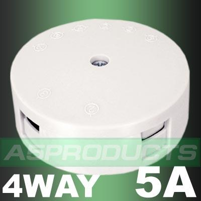 JUNCTION BOX White 5Amp