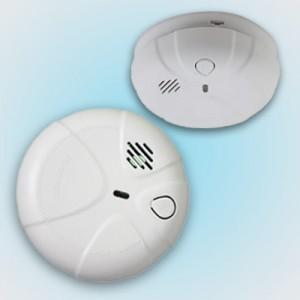 ALARM - Smoke Alarm Detector Mains 240v Hard Wired w/ 9v Battery Backup