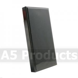 Single Blank - Grid Outlet Module - Black (25x50mm)
