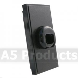 Cord Anchorage - Grid Outlet Module - Black