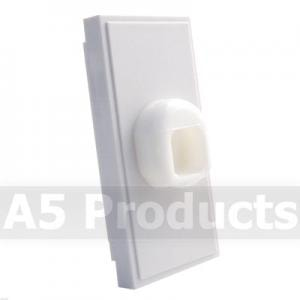 Cord Anchorage - Grid Outlet Module - White