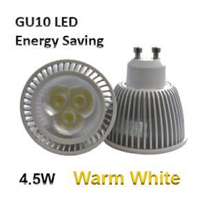 LED GU10 4.5W - Energy Saving Spot Light Bulb (SH) - Warm White 3000K